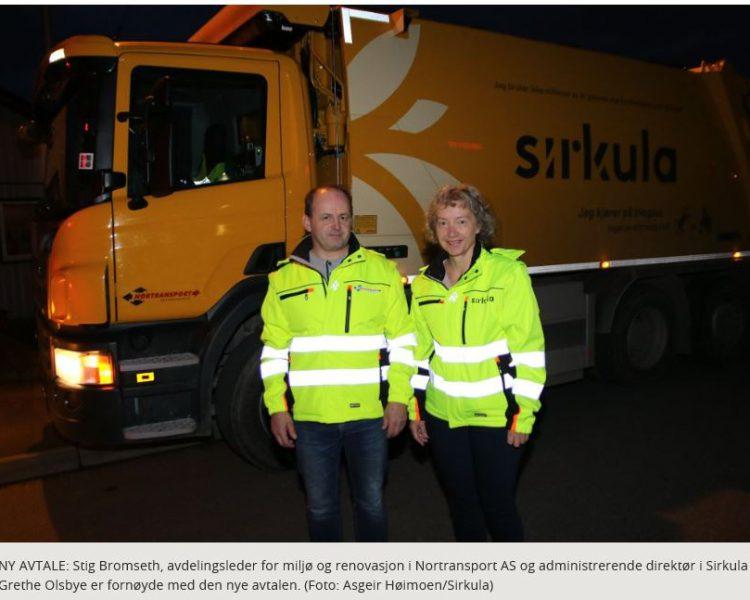 Nortransport tar over innsamlingen av avfallet på Hedmarken fra og med mandag 25. september.