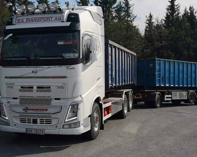 Nortransport AS søker krokbiler, og skapbiler til distribusjon