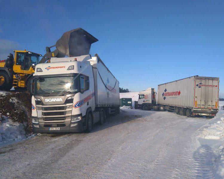 Nortransport seeks 3-axled trucks